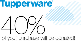 With a Tupperware Fundraiser, 40% of your purchase goes to your fundraising organization. That's $10 for every $25 you spend. So have fun shopping and feel good about it.