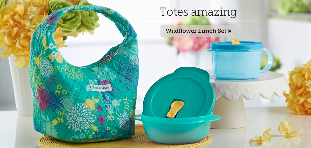 Wildflower Lunch Set